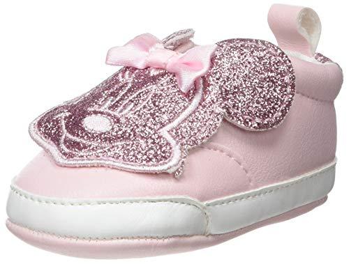 ZIPPY Baby Mädchen Zapatillas De Minnie Mouse para Recién Nacida Hausschuhe, Cristal Pink 12/1605 TCX 2620, 15 EU