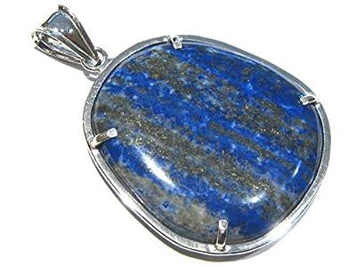 pendentif Lapis-Lazuli argent 925%