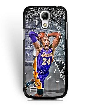 Samsung Galaxy S4 Mini I9195 Custodia Kobe Bryant Basketball Player Custodia, Cool Printed Drop Protection Samsung Galaxy S4 Mini Plastic Hard Shell For Boys