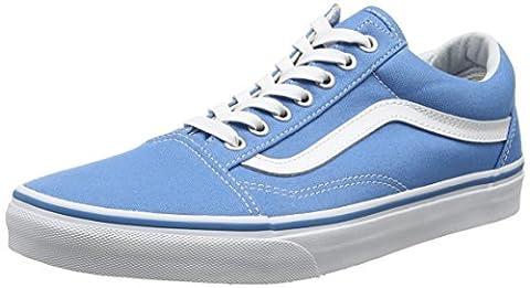 Vans Unisex-Erwachsene Ua Old Skool Sneakers, Blau (Canvas Cendre Blue/True