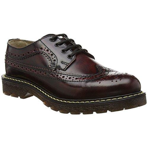 Grinder Mens Bertrum Brogue Leather Shoes