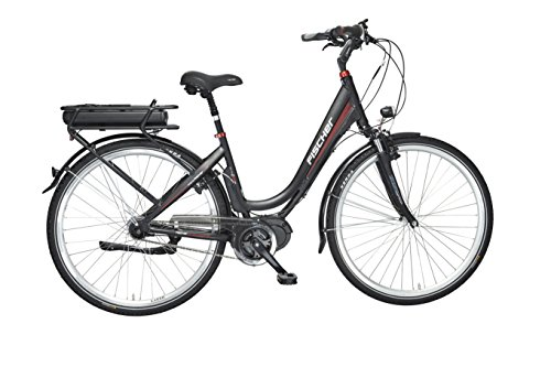 Fischer E-Bike City ECU 1720, 28 Zoll, Mittelmotor 48 V/422 Wh und Rücktritt Powered by BAFANG