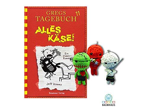 Baumhaus Medien Gregs Tagebuch 11: Alles Käse! (Gebundenes Buch) + 1. Coole Voodoo Puppe