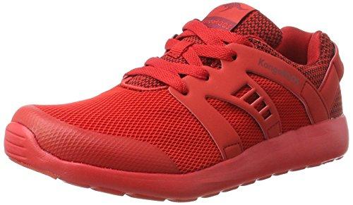KangaROOS Unisex-Kinder XCAPE Kids Sneaker, Rot (Red), 38 EU