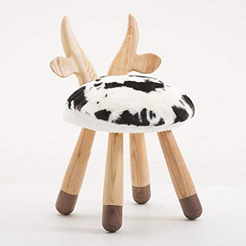Big seller Fußbank Hirsch Stuhl Tier Stuhl Massivholz Kinderbank Baby Stuhl Hause Baby Stuhl