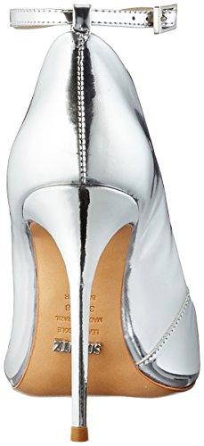 Donna Schutz Donna Da prata Cinturino Silber Caviglia Scarpe Alla q57vfwx5