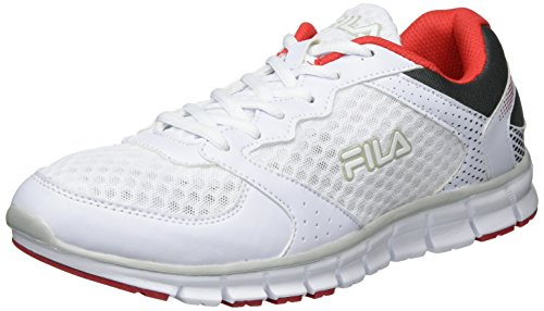 Fila Herren Men Base Comet Run Low Sneaker, Weiß (White), 42 EU (Fila-weiß Schuhe)