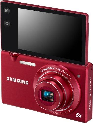 Samsung Multiview MV800 Appareil photo numérique 16 Mpix écran pivotant Rouge