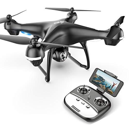 Eanling by Holystone FPV RC Drohne HS100G mit Full HD Kamera 5G live Übertragung und GPS,Lange Flugzeit,RC Quadrocopter ferngesteuert mit Follow Me,automatische höhenhaltung,Coming Home für Anfänger
