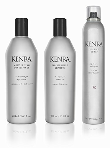 Kenra Moisturizing Conditioner (Kenra Moisturizing Trio Kit Shampoo, Conditioner and Volume Spray by Kenra)