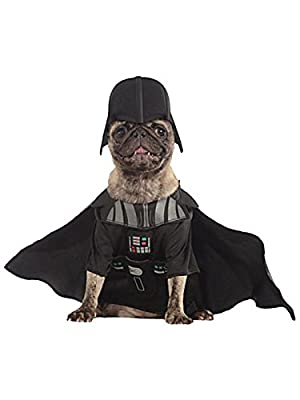 Rubie's Darth Vader Star Wars Official Pet Dog Costume - X-Large by pupproperty dog clothing