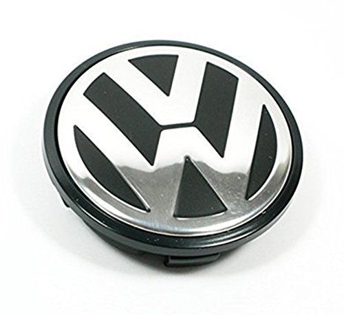 rcmaoyi 65mm, caddy, EOS, Golf, Jetta, Passat CC, Phaeton, Scirocco, Sharan, Tiguan, Touran, Transporter para Volkswagen VW Rueda Centro Tapacubos Tapas–Número de pieza 3B7–601–171(1pieza)