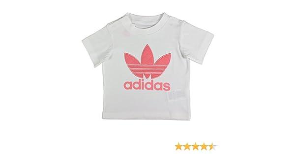 adidas Quilt Trefoil W T shirt white