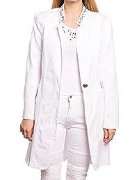 Abbino 6290-5 Mäntel Damen Frauen - Made in Italy - 6 Farben - Damenjacken  Damenmäntel Übergang Frühling Sommer Herbst… 68666a239f