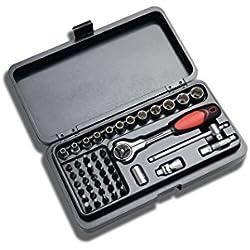 Crescent CTK47EU WERKZEUGSET PROFESSIONAL METAL BOX 47-Teilige Werkzeug-Set
