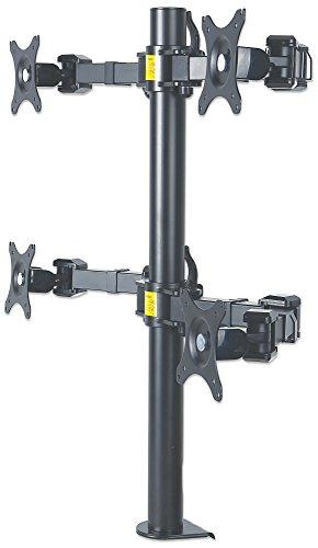 manhattan-461122-tischhalterung-mit-monitorarm-fur-vier-displays-bis-30-zoll-schwarz