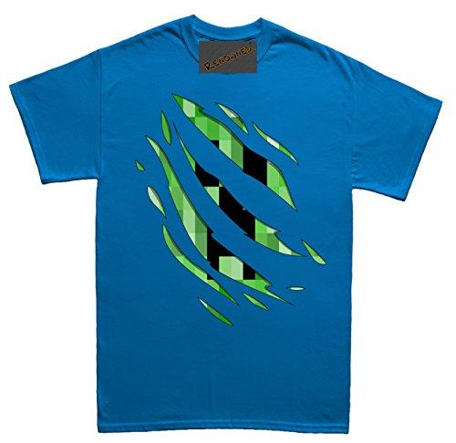 Renowned Secret Enemy inside creep Unisex - Kinder T Shirt Blau
