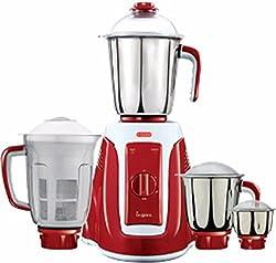V-Guard Inspira 4 Jar 750 W Juicer Mixer Grinder (Red)