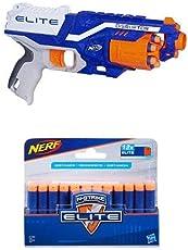 Nerf N Strike Elite Disruptor - Blaster & 12 Dart Refill Combo