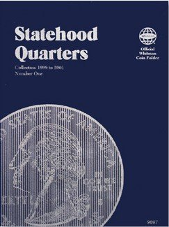 Statehood Quarter Folder, Volume 1, 1999-2001 by Whitman Coins - Volume Folder