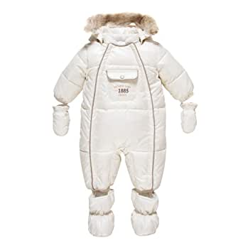 chicco combinaison pilote manteau b b gar on blanc 1 mois v tements et. Black Bedroom Furniture Sets. Home Design Ideas