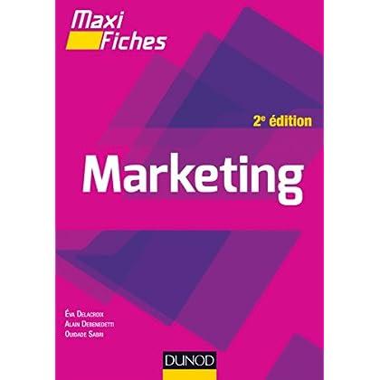 Maxi fiches - Marketing - 2e éd.