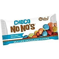 Premium Chocolatiers choco chocolate (3 pack) de color natural, vegetariana, libre de leche, nuez de caramelo.