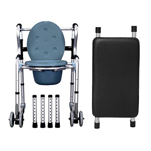 Chaise de bain de chaise de Commode pour la chaise de commode de but de toilette de sécurité de personnes âgées et le coussin mou