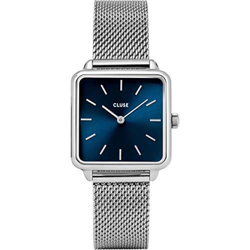 Cluse Damen Analog Quarz Uhr mit Edelstahl Armband CL60011