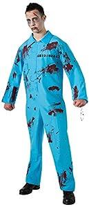 Halloween - Disfraz de Preso Zombie para hombre, Talla única adulto (Rubie