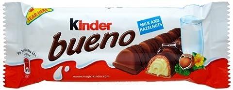 Kinder 9 Barren Von Bueno Schokolade Mit Haselnuss Creme Gefüllt Waffel