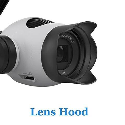 Aokey DJI Handheld Outdoor Camera Lens Hood for DJI Osmo PTZ Camera Inspire 1