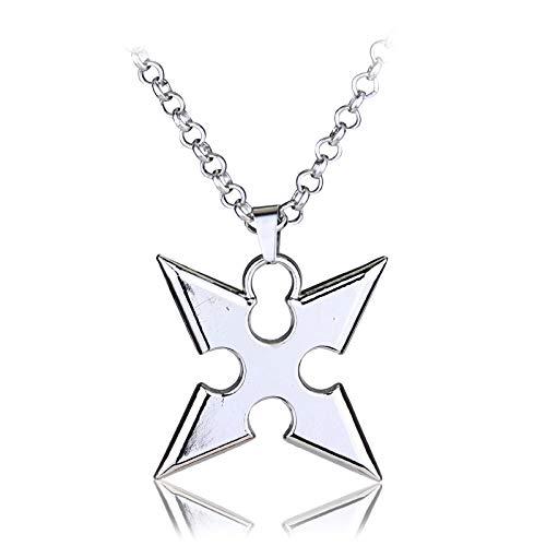 Zeit Für Herr Verkauf Der Kostüm - Anime Kingdom Hearts Cosplay Halskette Krone Anhänger Schlüsselklinge Halskette Heißen Verkauf Silber Vergoldet Schmuck Zinklegierung Schmuck