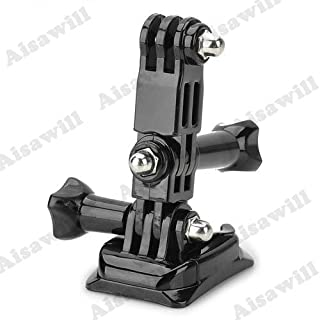 Asiawill® Universal Fast Assemble Helmet Side Mount for GoPro Hero 3 / 2 / 1