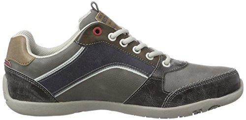 Mustang Herren Sneakers Grau (233 stein/grau)