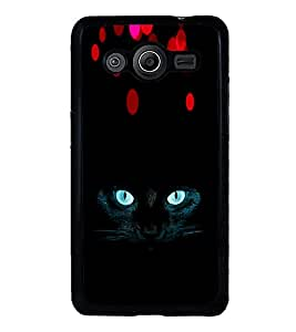 ifasho Designer Phone Back Case Cover Samsung Galaxy Core 2 G355H :: Samsung Galaxy Core Ii :: Samsung Galaxy Core 2 Dual ( Black Red Purple Colorful Pattern Design )