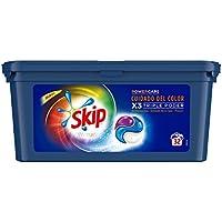 Skip Ultimate Triple Poder Cuidado del Color Detergente Cápsulas para Lavadora - Paquete de 3 x 32 lavados - Total: 96 lavados