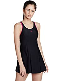 Speedo Female Swimwear Racerback Swimdress with Boyleg
