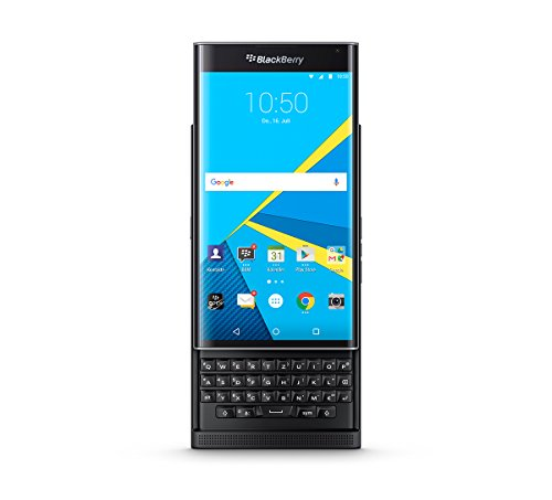 Blackberry Priv - Smartphone Libre Android (5.4', 18 MP, 32 GB, 3 GB RAM, Teclado QWERTZ), Color Negro