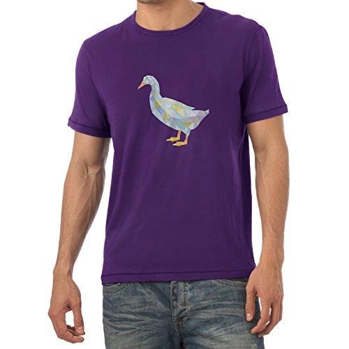 TEXLAB - Poly Duck - Herren T-Shirt Violett