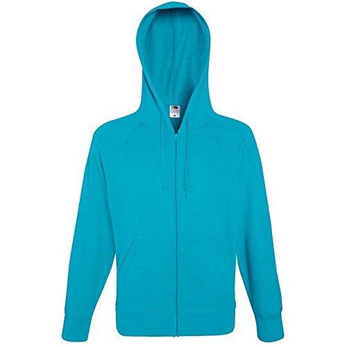Fruit of the Loom Herren Sweatshirt 12208B Azure Blue