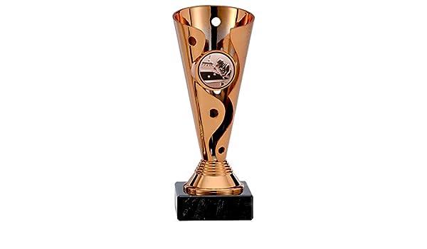 bronze Billardpokale 3er Serie A100-BI