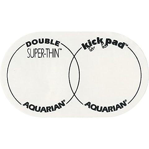 Aquarian Super Thin Double Kick Pad (Import Royaume Uni)