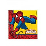 Marvel 46928 Ultimate Spider-Man Party Tableware Napkins Paper Two-Ply