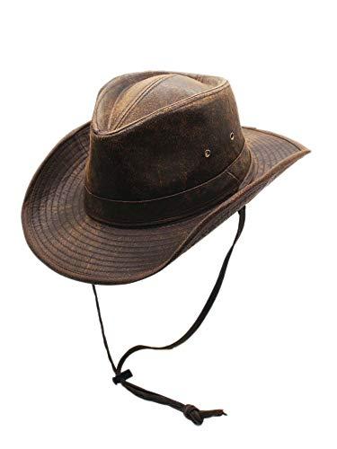 nd Clothing Company Verwitterte Outback Außen formbar Hut für Herren XX-groß braun ()
