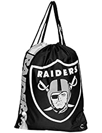 Forever Collectibles Oakland Raiders Cropped Logo Drawstring Backpack Gym  Sack a908cb5366c