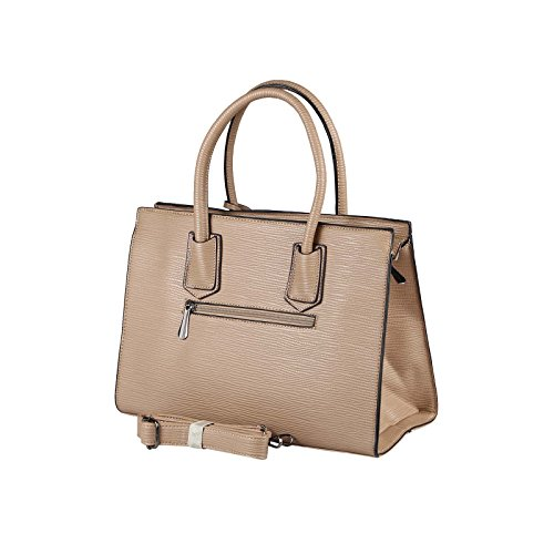 OBC Only-Beautiful-Couture, Borsa a mano donna rosso Rot. ca.: 35x26x15 cm (BxHxT) Taupe.