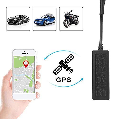 zhenyao Auto-GPS-Tracker, Diebstahlschutz, Fahrzeug-Tracker, Fahrrad-Tracker, Echtzeit-Tracker, GPS, GPRS, SMS-Tracker für Auto, Google Maps, Link, kostenlose Android/iOS-App