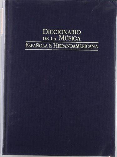Diccionario de la musica española e iberoamericana 3 por Casares Emilio