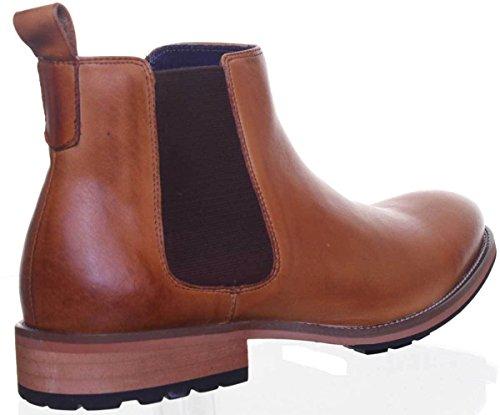 Justin Reece David, Chaussures de ville à lacets pour homme Camel